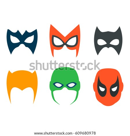 superhero masks backgrounds