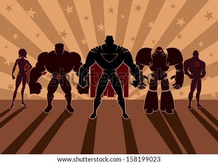 superhero team  team of