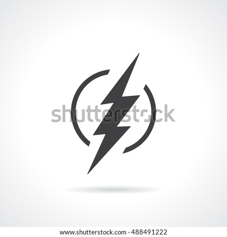 superhero vector icon flash