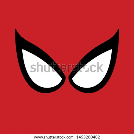superhero vector mask big eyes