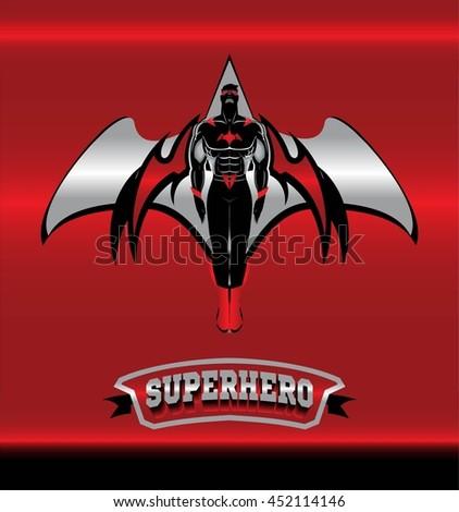 superhero winged superhero