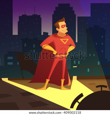 superman in night city cartoon