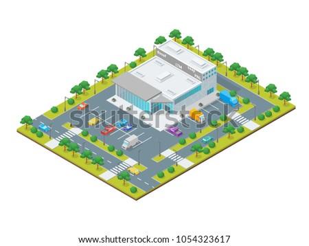 supermarket or shop building