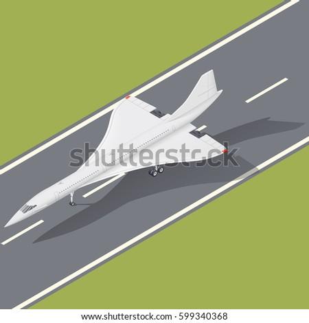 supersonic passenger airliner