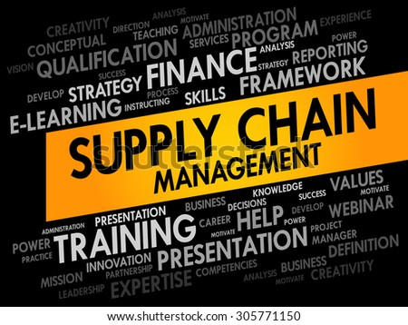 the concepts of supply chain management business essay Introduction to supply chain management concepts for the understanding of the concept from supply chain management business essay writing service.
