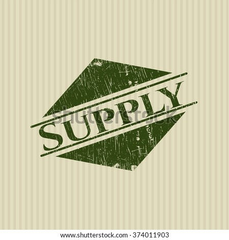 Supply rubber stamp
