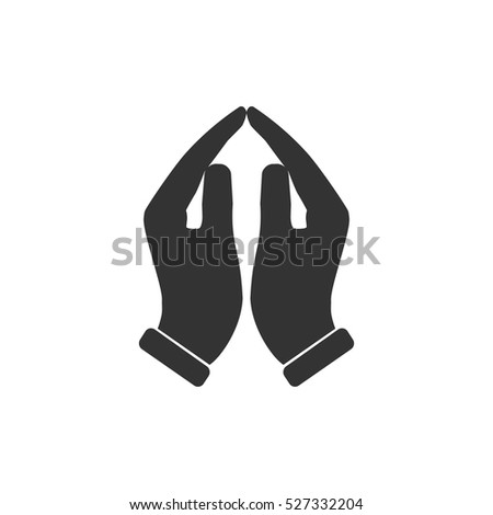 royalty free stock photos and images supporting hands icon flat