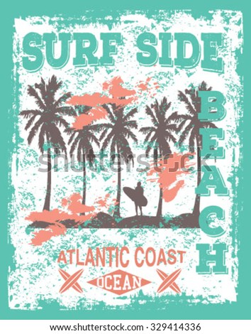 surf side graphic design