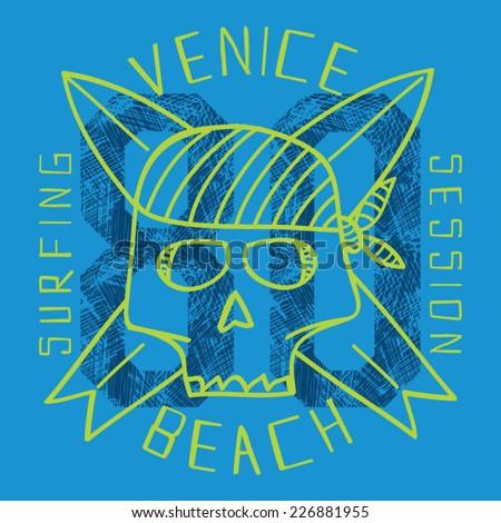 surf skull vectors  t shirt