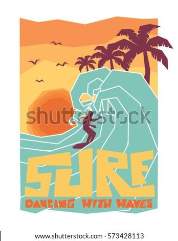 surf surfer and big wave surf