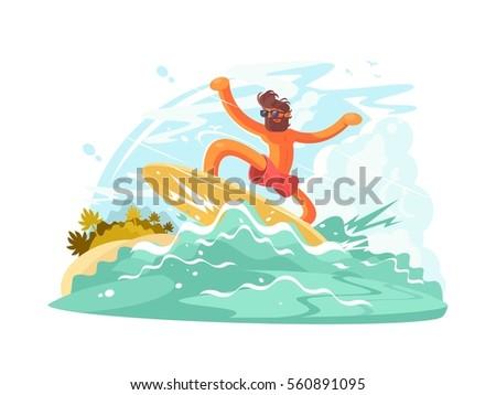 surfer guy in sunglass