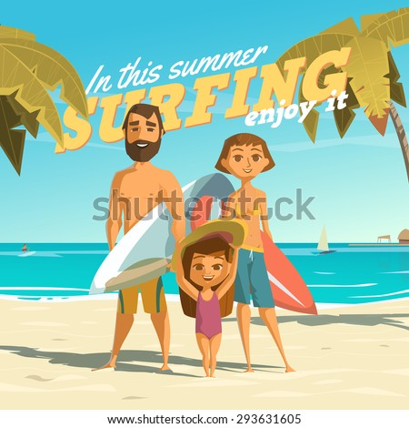 surfing in this summer enjoy it