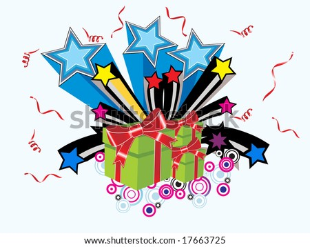 wallpaper gift. gift vector wallpaper