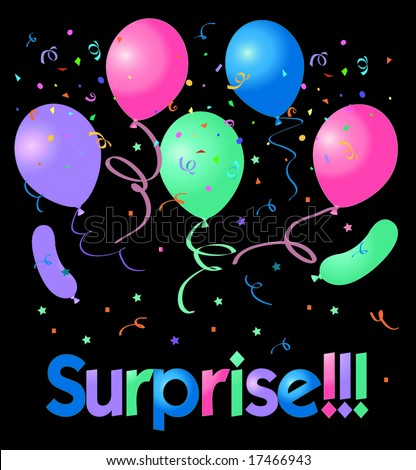 Shhh It's a Surprise Clip Art http://www.shutterstock.com/pic-17466943/stock-vector-surprise-party.html
