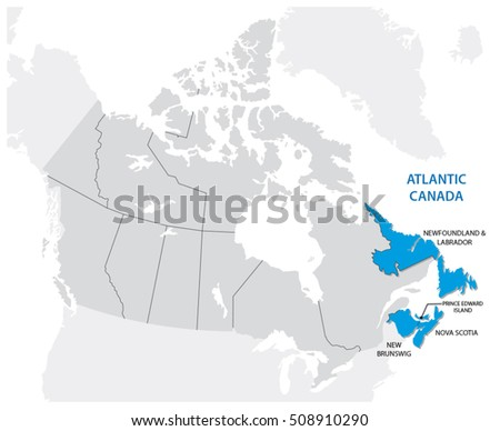 survey map of the four canadian