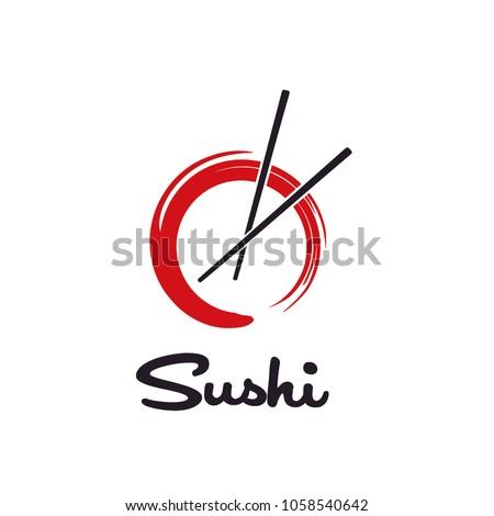 Sushi / Initial O logo design inspiration
