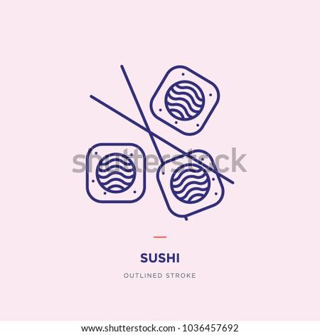Sushi Line Icon