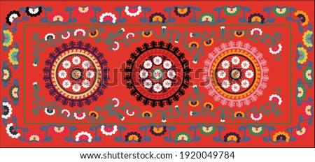 suzane- orient pattern carpet (Uzbekistan)