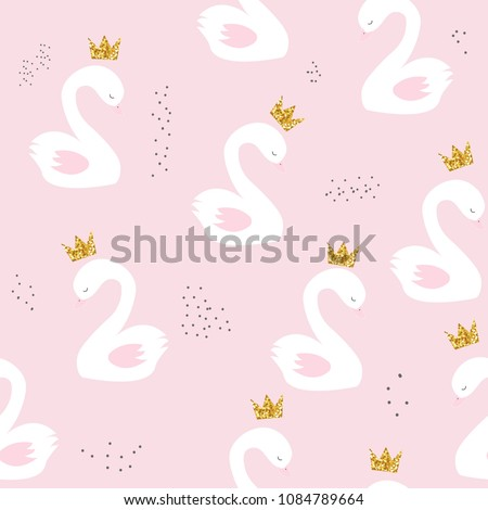 swan princess with golden