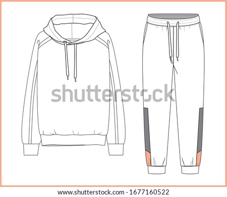 sweatshirt  sweatpants fashion