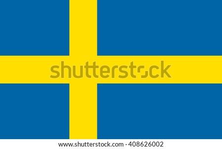 sweden flag  official colors...
