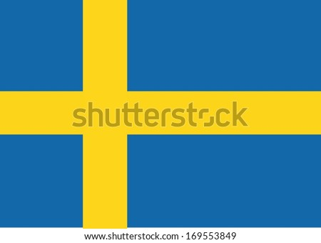 sweden flag themes idea design