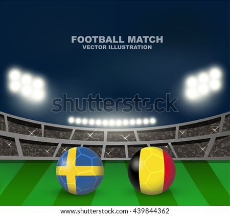 sweden vs belgium soccer ball