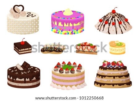 sweet bakery collection  poster