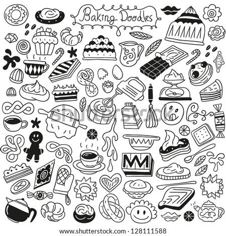 sweet baking doodles