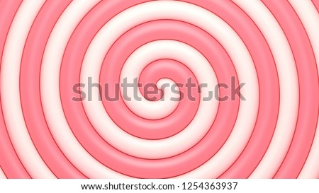 Sweet candy abstract spiral background.