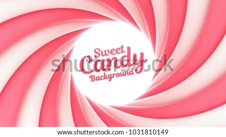 sweet candy swirl vector