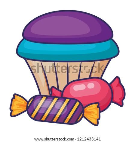 sweet cupcake design