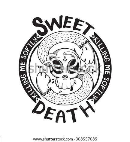 sweet death skeleton skateboard