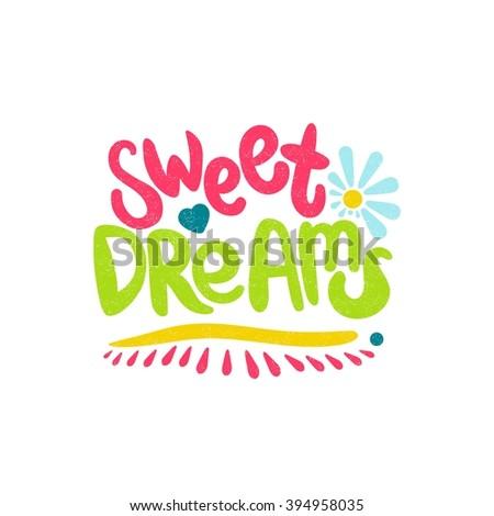 sweet dreams card bright