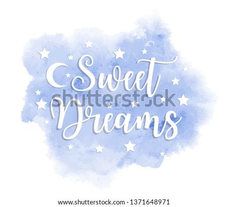 sweet dreams inscription on