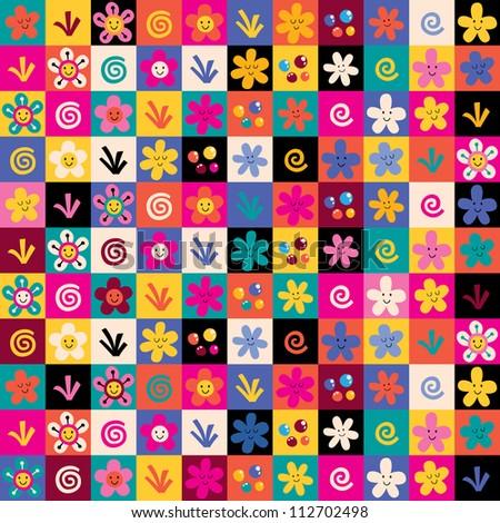 sweet flowers pattern