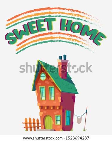 sweet home   t shirt design