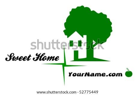 Sweet Home - vector illustration