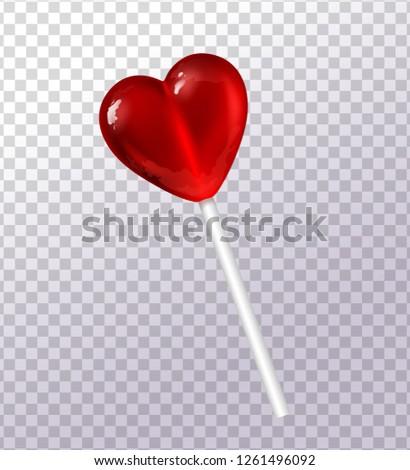 sweet lollipop in the form of a
