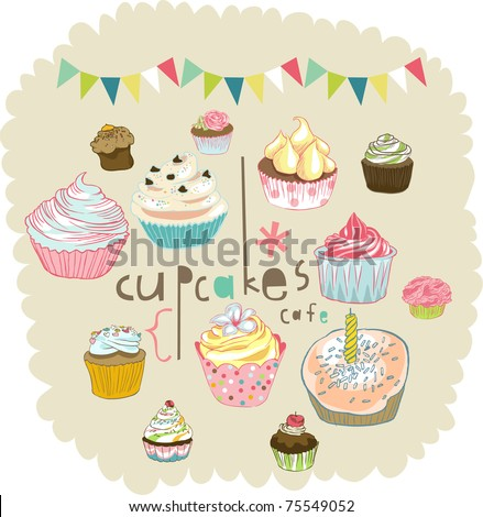 ... vector : sweet party card design pattern best for b