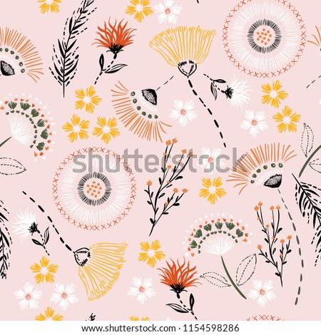 sweet pastel  seamless pattern