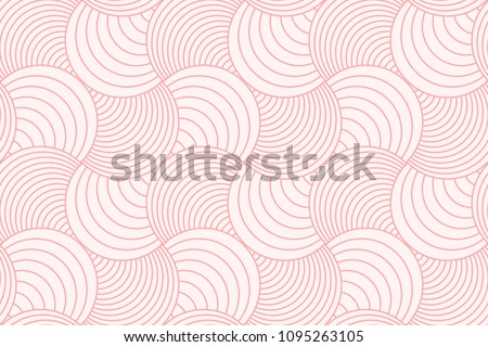 stock-vector-sweet-pink-geometric-line-circle-abstract-background-seamless-pattern-vector-design