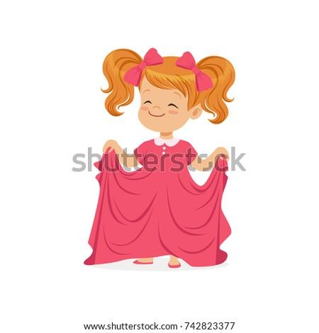 sweet redhead girl wearing dult