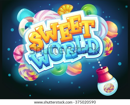 sweet world game user interface