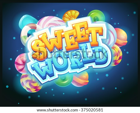 sweet world game user interface