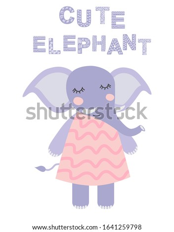 sweetest baby elephant in the