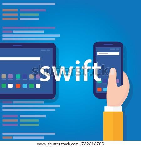 Swift mobile application programming language coding software technology