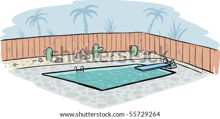 swimming pool - vector