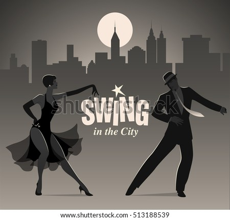 swing in the city  elegant