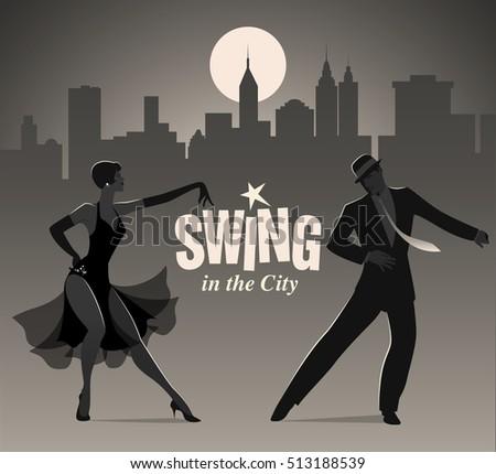 swing in the city  elegant